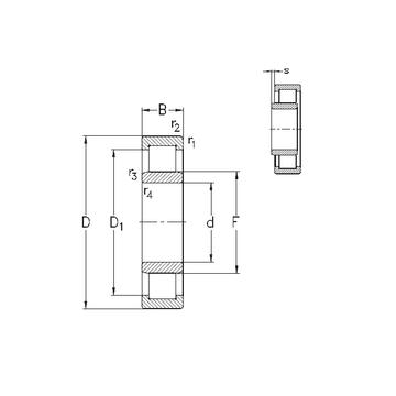 NU236-E-M6 NKE Cylindrical Roller Bearings