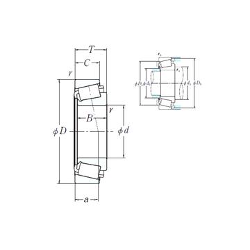 67391/67322 NSK Cylindrical Roller Bearings