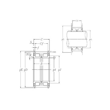 SL04-5052NR NTN Cylindrical Roller Bearings