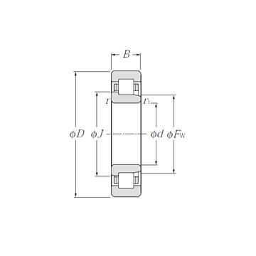 NJ2224 CYSD Cylindrical Roller Bearings