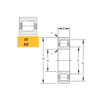 180RF92 Timken Cylindrical Roller Bearings